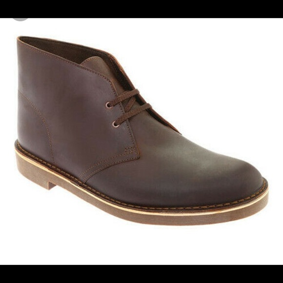 CLARKS ORIGINALS DESERT BOOT MUSTARD TAN LEATHER MENS SIZE SHOES BOOTS 08405